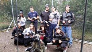 Paint Ball with the CBR Teens